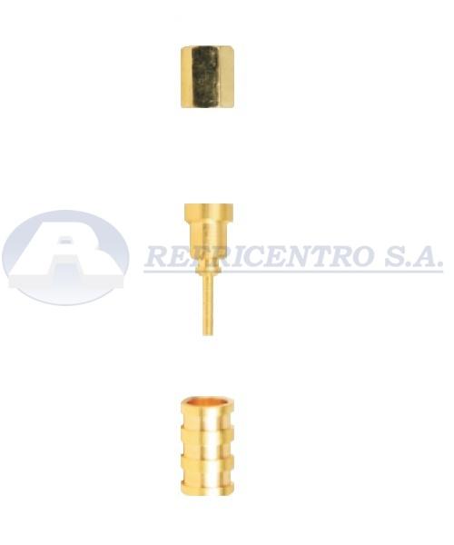 Racor Conector Recto. SKU. 013150100060.